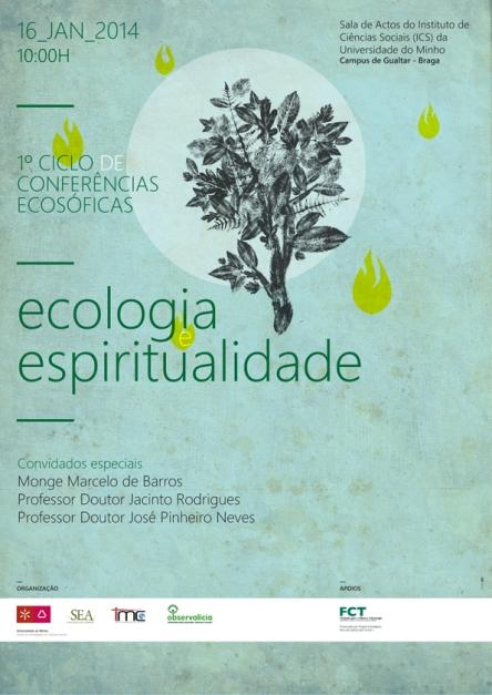cartazEcologiaEspiritualidadeBarrosJan2014